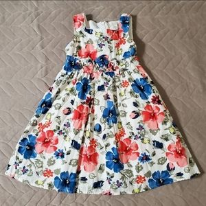 Children's Place Tropical Floral Full Dress